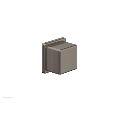 MIX Volume Control/Diverter Trim - Cube Handle 290-38 - Pewter
