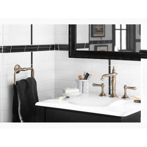 "Sea Salt 25"" Vanity-top Bathroom Sink With 8"" Widespread Faucet Holes"