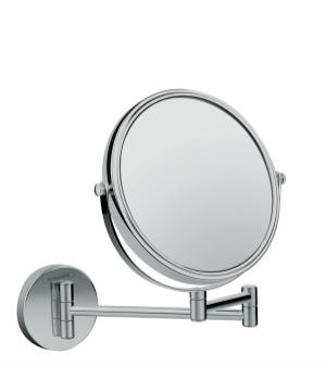 Chrome Pull-Out Shaving Mirror Product Image