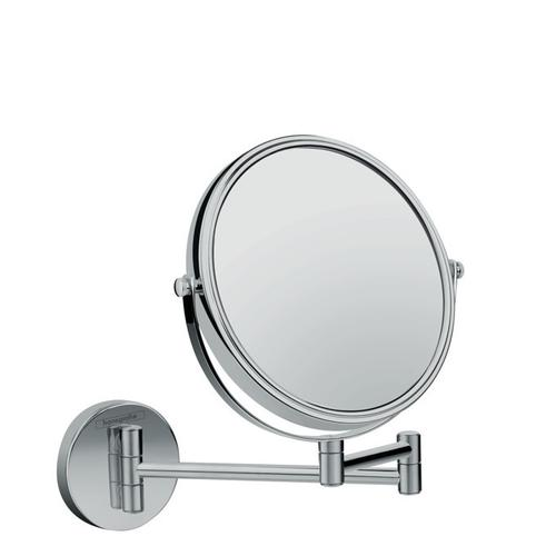 Chrome Pull-Out Shaving Mirror