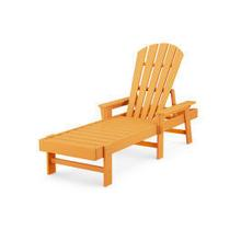 View Product - South Beach Chaise in Tangerine