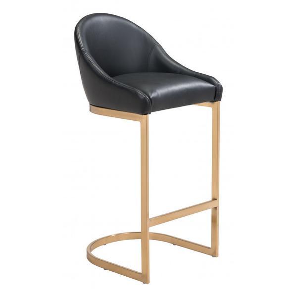Scott Bar Chair Black