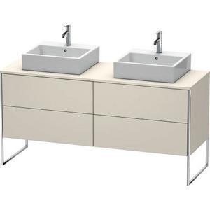 Vanity Unit For Console Floorstanding, Taupe Matte (decor)