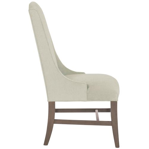 Slope Arm Chair in Portobello Finishes Available Cocoa (CN1) Portobello (PN1) Smoke (SN1) Description Upholstered seat with welt Upholstered inback and outback Stretchers Options Optional nailhead trim available. Available in other fabrics or COM. To order in the available non-wire brushed finishes, specify the 3-digit finish number. Also available in wire brushed finishes - Glacier White, Midnight Black and Weathered Greige. See 319-541W . Also available in leather. Order as 319-41NL . Specifications subject to change without notice. Due to differences in screen resolutions, the fabrics and finishes displayed may vary from the actual fabric and finish colors. ALL RELATED PRODUCTS