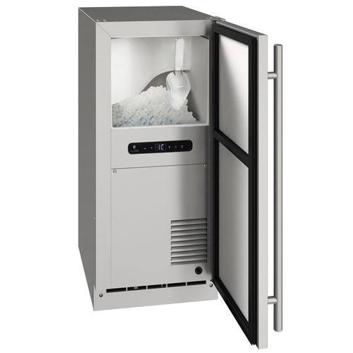 """15"""" Nugget Ice Machine With Stainless Solid Finish (115 V/60 Hz Volts /60 Hz Hz)"""