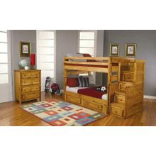 View Product - Wrangle Hill Amber Wash Twin-over-twin Bunk Bed