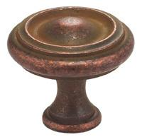 Classic Cabinet Knob in VC (Vintage Copper, Lacquered)