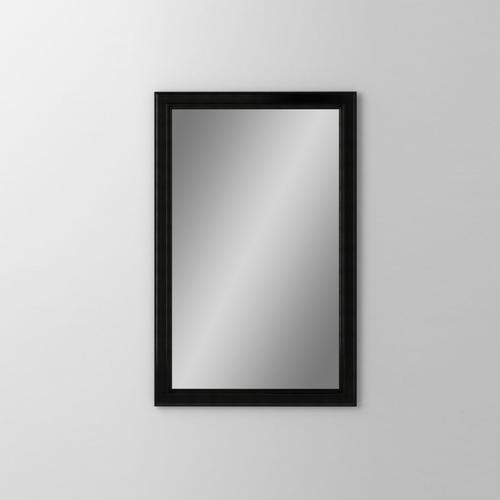 """Main Line 19-1/8"""" X 29-7/8"""" X 1-5/8"""" Bryn Mawr Framed Mirror In Brushed Black"""