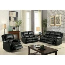 ACME Zuriel Sofa (Motion) - 52285 - Black PU