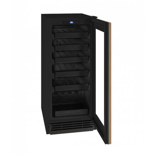 "U-Line - Hwc115 15"" Wine Refrigerator With Integrated Frame Finish (115v/60 Hz Volts /60 Hz Hz)"