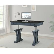 AMERICANA MODERN - DENIM 56 in. Lift Desk Top & Base Cover