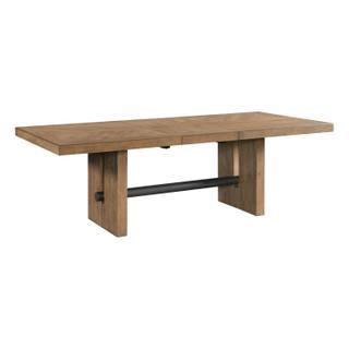 See Details - Landmark Trestle Dining Table