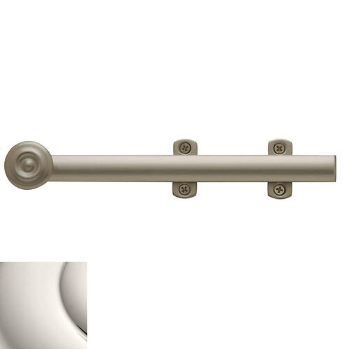 Polished Nickel Decorative Heavy Duty Surface Bolt