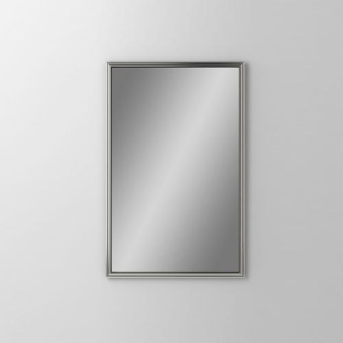"Main Line 19-1/8"" X 29-7/8"" X 1-5/8"" Rosemont Framed Mirror In Satin Nickel"