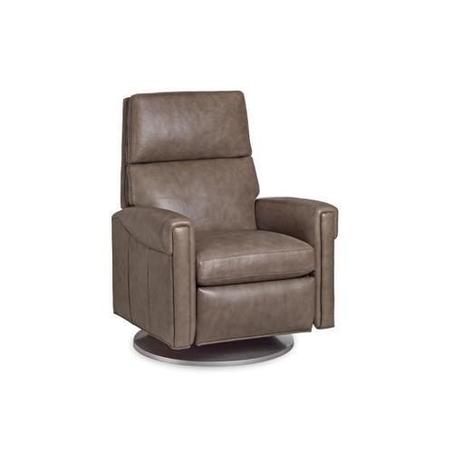 Hancock and Moore - 7152-S-PRB MANNING SWIVEL RECLINER W/BATTERY