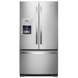Whirlpool36-inch Wide Counter Depth French Door Refrigerator - 20 cu. ft.