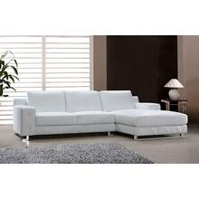 See Details - Divani Casa Delta - Modern Leather Sectional Sofa
