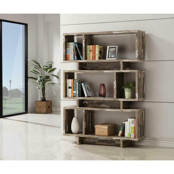 See Details - Rustic Salvaged Cabin Bookcase