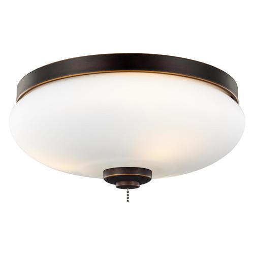 3 - Light Outdoor LED Light Kit - Roman Bronze