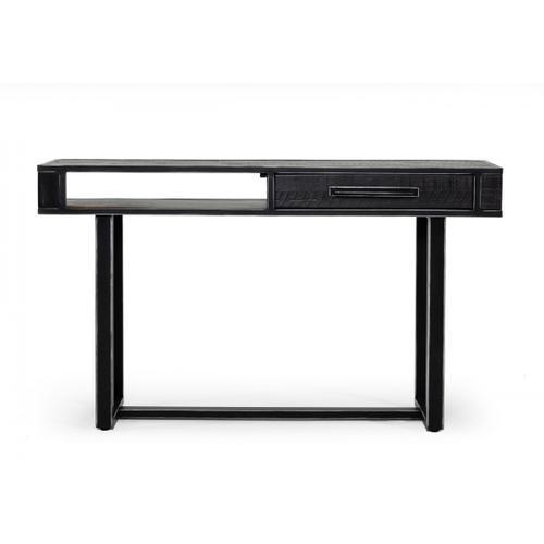 VIG Furniture - Modrest Hardy Modern Black Acacia Console Table