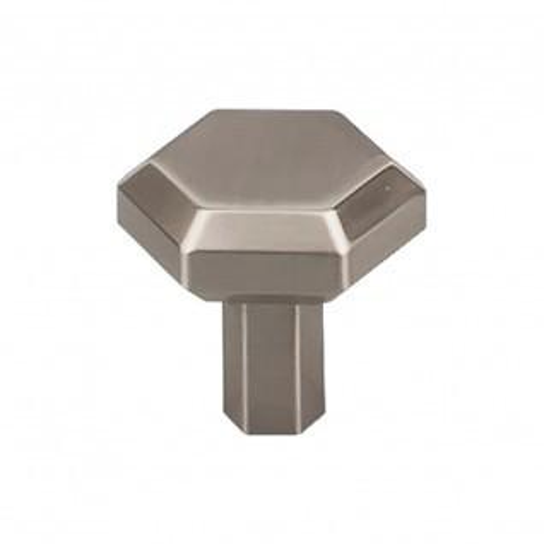 Lydia Knob 1 1/8 Inch - Brushed Satin Nickel