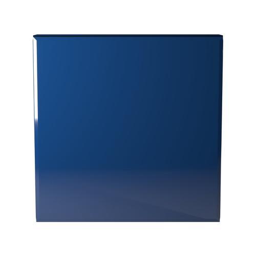Howard Elliott - Blue Mirrored Cube Table