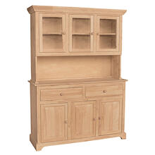 H-3B 3 Door Hutch (shown w/B-3 which is sold separately)