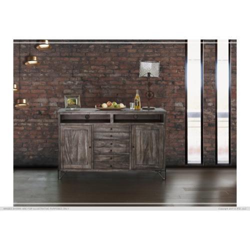"""Gallery - 60"""" TV Stand w/3 Drawer, 2 Door"""