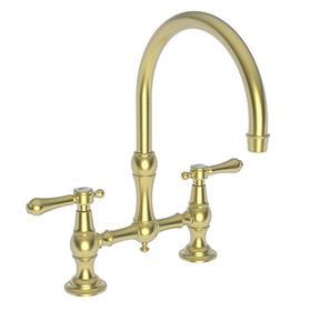 Satin Brass - PVD Kitchen Bridge Faucet