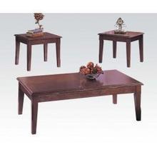 See Details - Merlot 3-pc Pack C/e Table Set