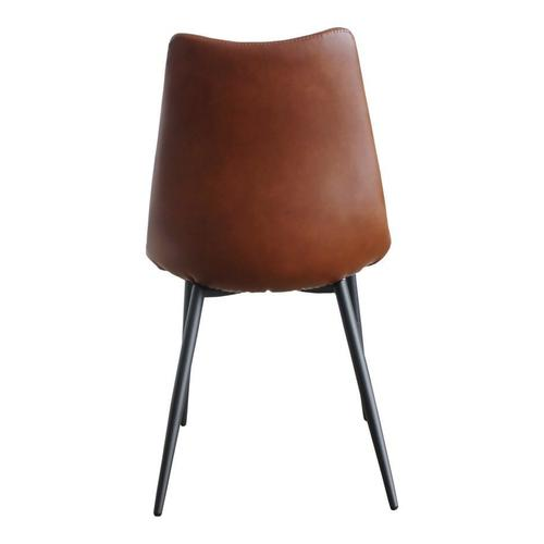 Moe's Home Collection - Alibi Dining Chair Brown-m2