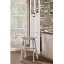 Moreno Backless Bar Stool - Distressed Gray