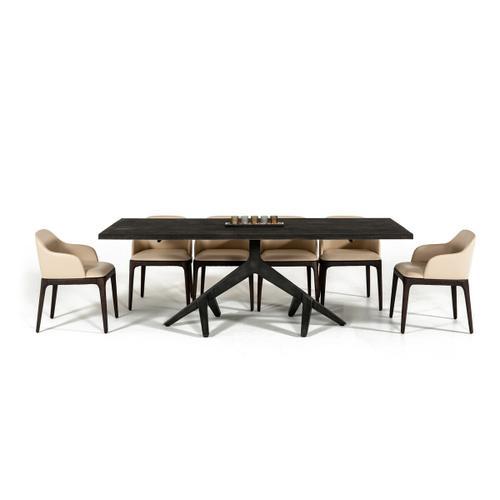 VIG Furniture - Modrest Moore Modern Aged Oak Live Edge Dining Table
