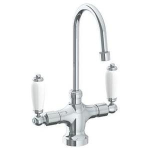 """Deck Mounted 1 Hole Kitchen Faucet With 4 1/2"""" Spout Product Image"""