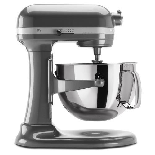 Gallery - Professional 600™ Series 6 Quart Bowl-Lift Stand Mixer Pearl Metallic