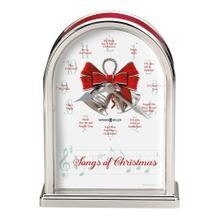 Howard Miller Songs of Christmas Table Clock 645820