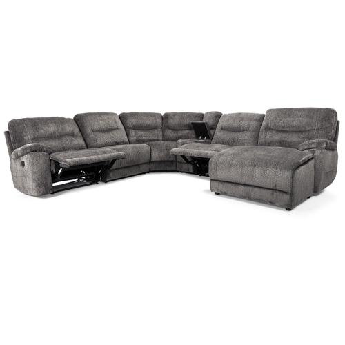 Charcoal LHF Reclining Chair