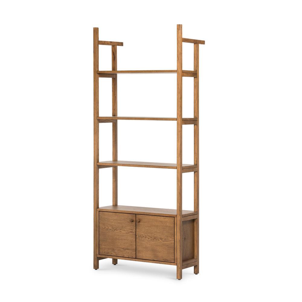 See Details - Two Door Configuration Teddy Bookshelf