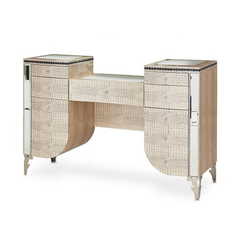 Upholstered Vanity Desk