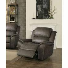 ACME Barnaby Recliner - 52882 - Gray Polished Microfiber