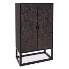 See Details - Glenn Tall Bar Cabinet