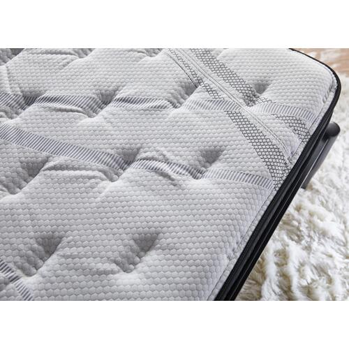 "NightsBridge 14"" Plush Euro Top Mattress, Twin"