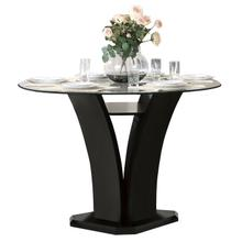 View Product - Round Counter Height Table, Glass Top
