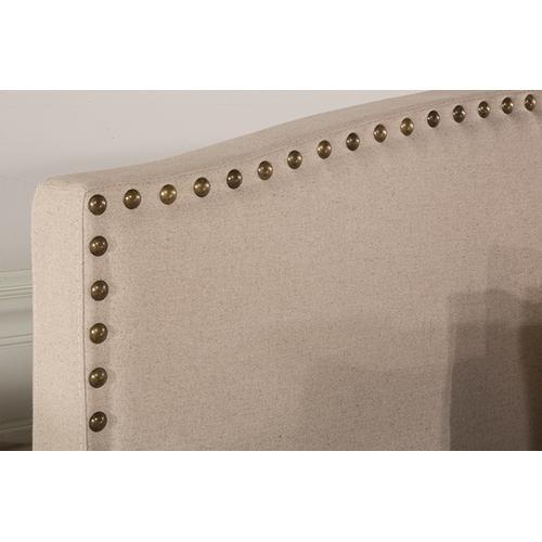 Gallery - Kerstein Fabric Headboard - Full - Headboard Frame Not Included - Lt Taupe