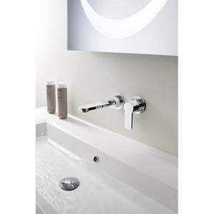 Wisp Wall-mount Single-lever Basin Faucet Trim - Phase out - Polished Nickel
