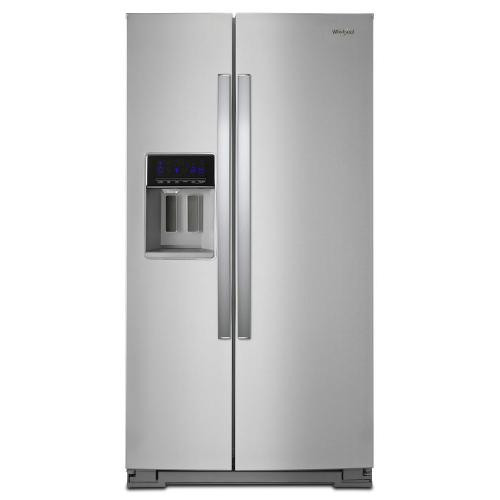 Whirlpool - 36-inch Wide Counter Depth Side-by-Side Refrigerator - 21 cu. ft.