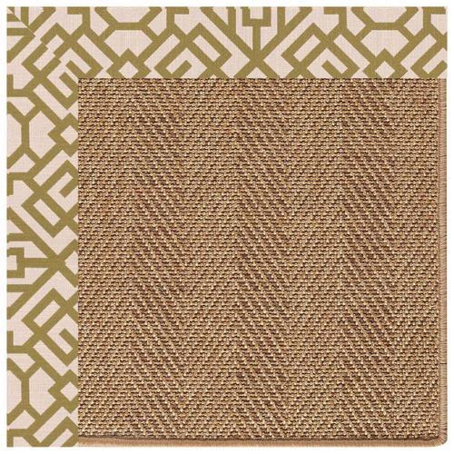 "Gallery - Islamorada-Herringbone Lattice Pesto - Rectangle - 24"" x 36"""
