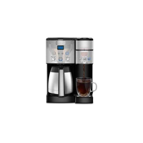 Cuisinart - Coffee Center® 10-Cup Thermal Coffeemaker and Single-Serve Brewer