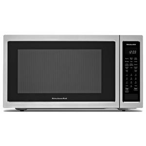 "KitchenAid21 3/4"" Countertop Convection Microwave Oven - 1000 Watt - Stainless Steel"