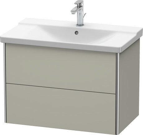 Product Image - Vanity Unit Wall-mounted, Taupe Satin Matte (lacquer)